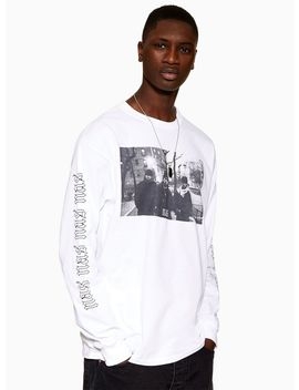 White 'nas' T Shirt by Topman