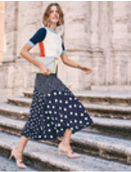 Alina Midi Skirt by Boden