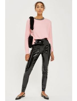 Tall Vinyl Pants by Topshop