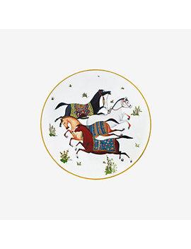Cheval D'orient Dessert Plate by Hermès