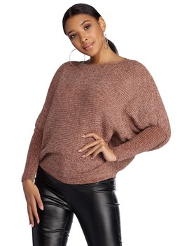 Covered In Cozy Chenille Sweater by Windsor