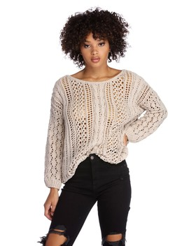 Whisper Softly Pullover Sweater by Windsor