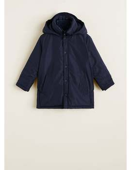Anorak Impermeable Capucha by Mango
