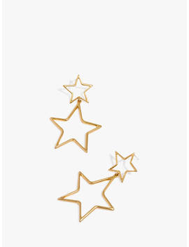 Madewell Star Drop Earrings, Gold by Madewell