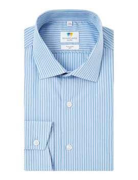 Highlight Stripe Slim Fit Shirt by Richard James Mayfair