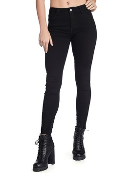 Mid Rise Distressed Ankle Skinny Jeans by Windsor