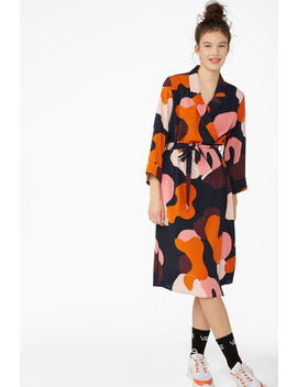 Dressy Wrap Dress by Monki