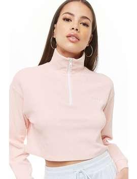 Velvet Baby Graphic Pullover by Forever 21