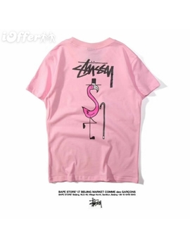 Fashion Stussy Tee Cotton T Shirt Tshirts Tops Unisex by I Offer