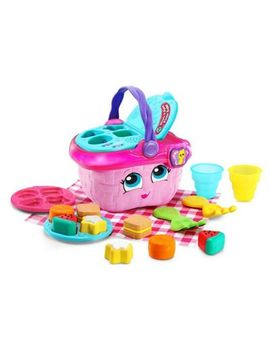Leap Frog   Pink 'shapes And Sharing Picnic Basket' Playset by Leap Frog