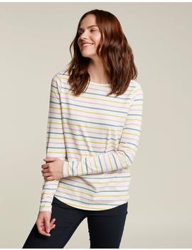 Organic Cotton Multi Breton T Shirt by Fat Face
