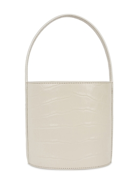 Bissett Crocodile Effect Bucket Bag by Staud