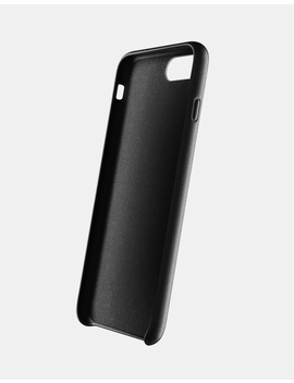 Mujjo Full Leather Case For I Phone 7 & 8 Plus   Black by Mujjo
