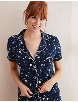 Aerie Piping Pajama Shirt by American Eagle Outfitters