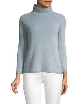 Ghiglia Mockneck Cashmere Sweater by Max Mara