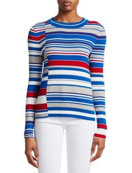 Mason Mixed Stripes Knit Sweater by Rag & Bone