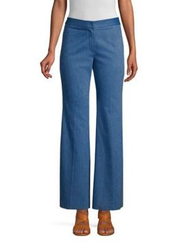 Flare Leg Trousers by Derek Lam
