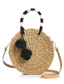 Isabel Pom Pom Circle Bag by Kayu