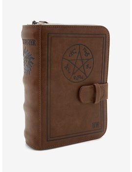Supernatural John's Journal Crossbody Bag by Hot Topic