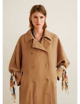 Trench Detalle Lazo Pañuelo by Mango