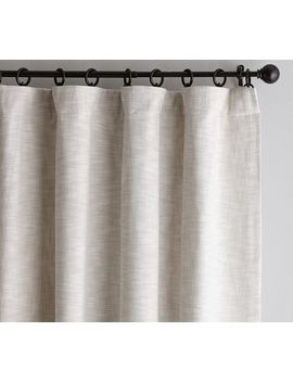 Seaton Textured Drape   Neutral by Pottery Barn