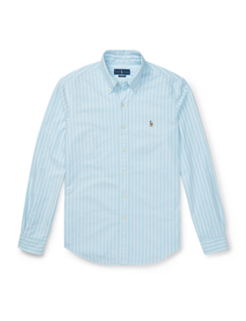 Slim Fit Striped Oxford Shirt by Ralph Lauren