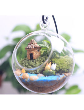 Mini Diy Dollhouse Miniatures Cottage Terrarium Fairy Garden Gnome Moss Resin Jv by Ebay Seller