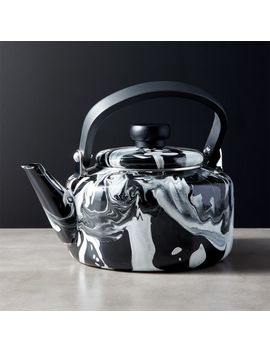 Brew Enamel Teapot by Crate&Barrel