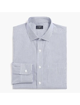 Slim Thompson Flex Wrinkle Free Dress Shirt In Stripe by J.Crew