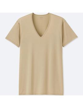 Herren Airism T Shirt Mit V Ausschnitt by Uniqlo
