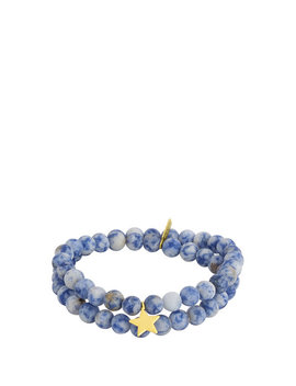 Electric Picks Star Double Wrap Bracelet by Henri Bendel