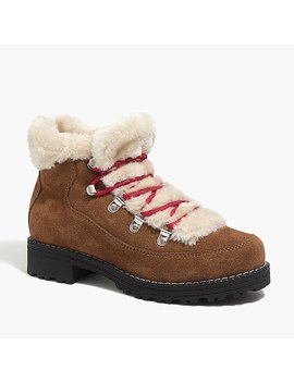 Winter Lace Up Boots by J.Crew