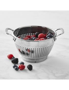 Williams Sonoma Stainless Steel Berry Colander by Williams   Sonoma