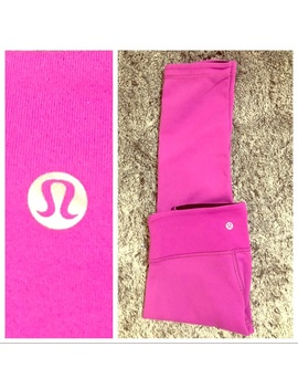 Lululemon Athletica Wunder Under Reversible Cropped by Lululemon Athletica