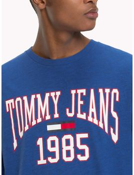 Tommy Jeans College Long Sleeve T Shirt by Tommy Hilfiger