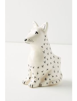 Tinyloud Creative Co. Ceramic Dog Pot by Anthropologie