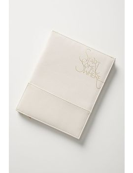 Start Somewhere Padfolio by Anthropologie