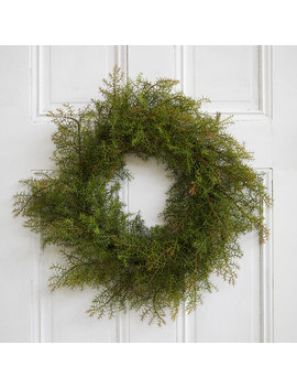 Faux Prickly Pine Wreath by Terrain