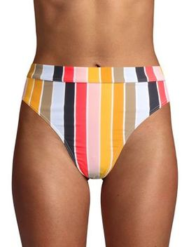 High On Sun Striped Bikini Bottom by Billabong