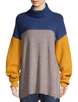 Ribbed Colorblock Sweater by Free People