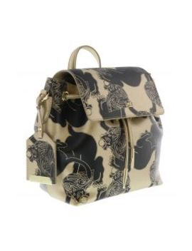 Hxlpaw D61 Gold/Black Backpack by Roberto Cavalli