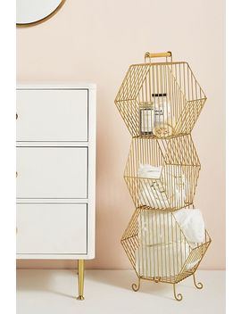 Clancy Basket Tower by Anthropologie