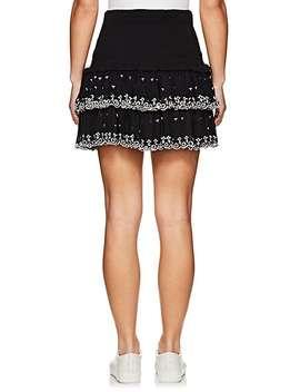Naomi Smocked Cotton Miniskirt by Isabel Marant Étoile