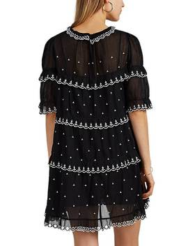 Lyin Embroidered Cotton Dress by Isabel Marant Étoile