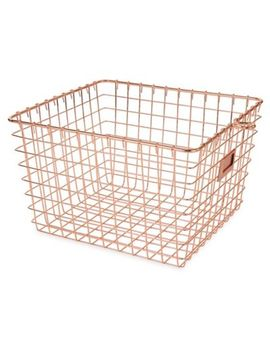 Spectrum® Medium Storage Basket by Bed Bath And Beyond