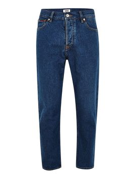 Tommy Jeans Blue Cropped 'randy' Jeans by Topman