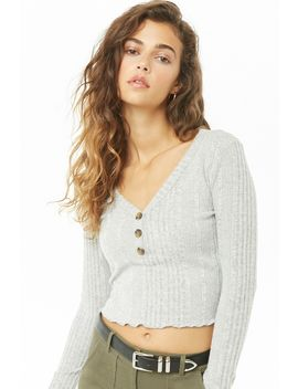 Brushed Ribbed Top by Forever 21