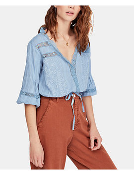Follow Your Heart Cotton Top by Free People