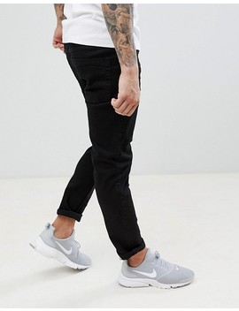 Threadbare – Enge Jeans In Schwarz by Asos