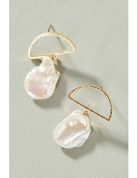 High Tide Geo Drop Earrings by Serefina